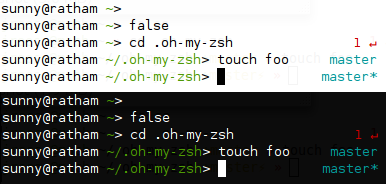 "My ""fishy"" theme for oh-my-zsh."